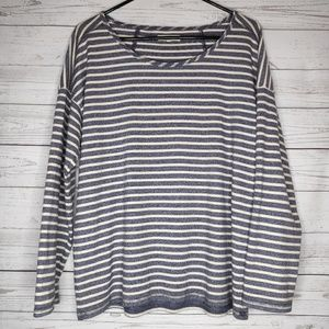 Madewell Stripe Pullover Sweater Size Small
